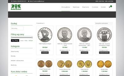 coins dealer